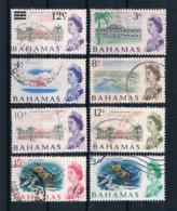 Bahamas 1967 Kleines Lot 8 Werte Gestempelt - Bahamas (1973-...)