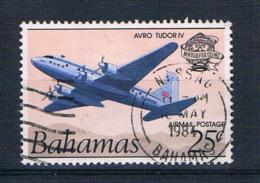 Bahamas 1983 Flugzeug Mi.Nr. 550 Gestempelt - Bahamas (1973-...)