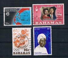 Bahamas Kleines Lot 4 Werte Gestempelt - Bahamas (1973-...)