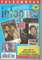 TELECARTES - INFOPUCE N° 5  - 1996 - Télécartes