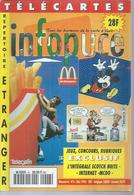 TELECARTES - INFOPUCE N° 6  - 1996 - Tarjetas Telefónicas