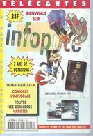TELECARTES - INFOPUCE N° 8  - 1996 - Kataloge & CDs