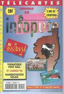 TELECARTES - INFOPUCE N° 9  - 1996 - Telefonkarten