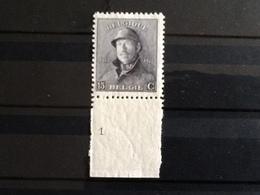 Nr.169** Albert Met Helm Plaatnummer 1. - 1919-1920 Roi Casqué