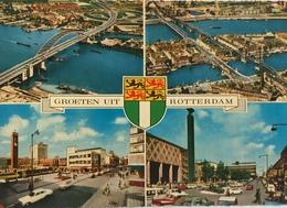 (661) Groeten Uit Rotterdam - Panorama - Wapenschild - Souvenir De...