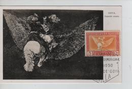PR6649/ Spain Maximum Card Goya 1930 Cancellation Sevilla - Maximum Cards