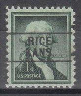 USA Precancel Vorausentwertung Preo, Locals Kansas, Rice 745 - Vereinigte Staaten