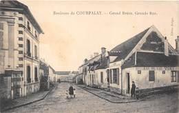 77-GRAND-BREAU- ENVIRONS DE COURPALAY- GRANDE RUE - France