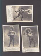Artiste / Casino De Paris / Miss Hobson / Lot De 3 CP / Danseuse Noire (précurseur De Josephine Baker !) - Entertainers
