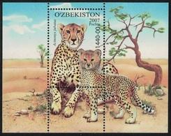 2007Uzbekistan758/B49Cats - Big Cats (cats Of Prey)