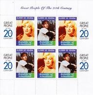 2000 (Republic Of Somaliland) Mini Sheet MNH, Great People Pf The 20th Century - Base-Ball
