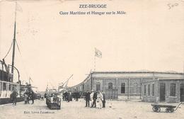 Gare Maritime Et Hangar Sur Le Môle - Zeebrugge - Zeebrugge