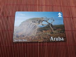 Phonecard Aruba Tree 608 A Used Rare - Aruba