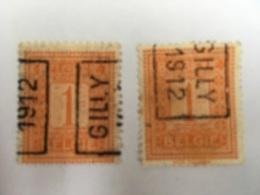 OCB Nr 108 /OCVB Nr 2000 Gilly 12 Azz&Bzz - Roulettes 1910-19