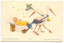 Geboortekaartje Carte De Naissance - Elly Van Der Heyden - Eindhoven 1946 - Naissance & Baptême