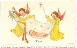 Geboortekaartje Carte De Naissance - Robbie Brammer - Voorburg 1944 - Naissance & Baptême