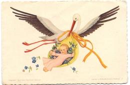Geboortekaartje Carte De Naissance - Annemarieke Straathof - Tilburg 1948 - Naissance & Baptême