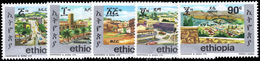 Ethiopia 1977 Ethiopian Towns Unmounted Mint. - Ethiopia