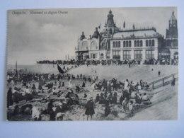 Oostende Ostende Casino Kursaal Et Digue Ouest Animée - Oostende