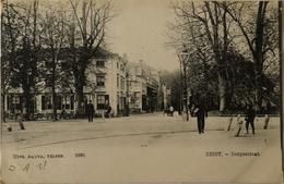 Zeist // Dorpsstraat (geanimeerd) 1913 - Zeist