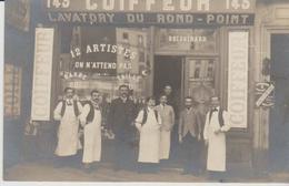 """75 PARIS 11eme ..SALON DE COIFFURE Au 143 Bd De Menilmontant """" ) - Photos"""