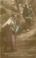 WW Guerre Militaires Poilus Soldats Patriotiques. Semeuse - Guerre 1914-18
