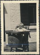 Enfants à LIMAL 1945  Photo Originale - Anonymous Persons