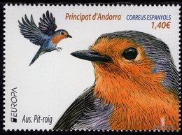Spanish Andorra - 2019 - Europa CEPT - National Birds - Mint Stamp - Andorre Espagnol