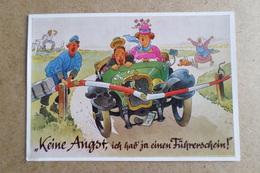 KEIN AUGST, Ich Hab'ja Einen Fuhrerschein - August Lengauer - (Oktoberfest, Auto, Humour) - Humor