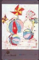 Télécarte Japon  * PEINTURE FRANCE * ART  (2305) IKARI * Japan * Phonecard * KUNST TELEFONKARTE - Peinture