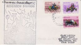 Campbell Island 1973 Cover Ca Campbell Island 26.6.73 (44094) - Ross Dependency (Nieuw-Zeeland)