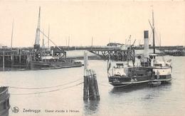 Chenal D'accès à L'écluse - NELS - Zeebrugge - Zeebrugge