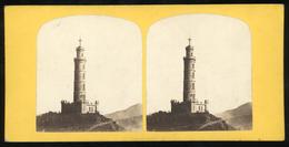 Stereoview - Nelson Monument, Edininburgh - SCOTLAND - Visionneuses Stéréoscopiques