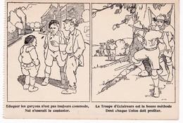 Scoutisme - Eduquer Les Garçons... -  La Troupe D'Eclaireurs Est La Bonne Méthode... - Ed. Comité Des Unions Jeunes Gens - Pfadfinder-Bewegung