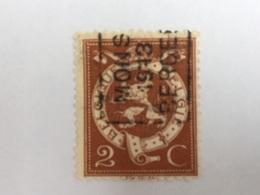 OCB Nr 109 / OCVB 2231 Mons 1913 Bergen  Azz - Roulettes 1910-19