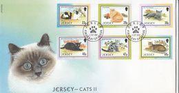 JERSEY - 2002 - Busta FDC Con Serie Completa Di 6 Valori, Yvert 1046/1051 - Jersey