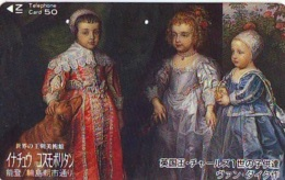 Télécarte Japon * PEINTURE FRANCE * ART  (2315)  * Japan * Phonecard * KUNST TELEFONKARTE - Peinture