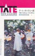 Télécarte Japon * PEINTURE FRANCE * ART  (2318) TATE GALERY * Japan * Phonecard * KUNST TELEFONKARTE - Painting
