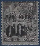 France Colonies Martinique N°10* Neuf Frais & TTB - Martinique (1886-1947)