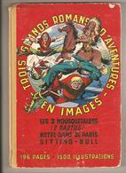 """BD Reliure Les 3 Mousquetaires - Notre-Dame De Paris - Sitting-Bull - Série """"Mondial Aventures"""" SPE 1955 - Editions Originales (langue Française)"""