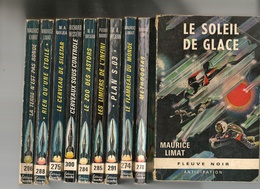 Livre - Lot De 10 Romans éditions Fleuve Noir  Collection Anticipation - Lots De Plusieurs Livres