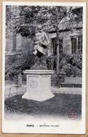 X75376 PARIS VI Square DESRUELLES Statue Bernard PALISSY 1510-1590 Par De Louis BARRIAS -A LA MENAGERE - Arrondissement: 06