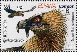 Spain - 2019 - Europa CEPT - National Birds - Mint Stamp - 1931-Heute: 2. Rep. - ... Juan Carlos I