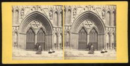 Stereoview - York Minster - YORKSHIRE - ENGLAND By G. W. Wilson - Stereoskope - Stereobetrachter