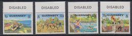 Guernsey 1981 Disabled People 4v (+margin) ** Mnh (44098E) - Guernsey