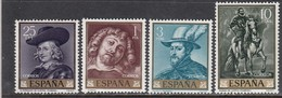 Spain 1962 - Tableaux De RUBENS, YT 1099/102, Neufs** - 1931-Today: 2nd Rep - ... Juan Carlos I