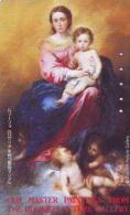 Télécarte Japon * PEINTURE FRANCE * ART (2329) DULWICH PICTURE GALLERY LONDON  * Japan * Phonecard * KUNST TELEFONKARTE - Malerei