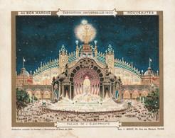 Chromo Ancien - Au Bon Marché - Exposition Universelle 1900 - Palais De L'électricité - Au Bon Marché