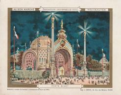 Chromo Ancien - Au Bon Marché - Exposition Universelle 1900 - Porte Binet - Au Bon Marché