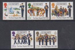 Guernsey 1993 Boys Brigade 5v ** Mnh (44098E) - Guernsey